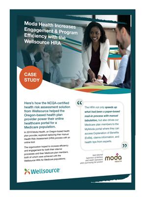Moda Health HRA Engagement