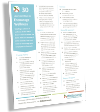30 Ways to Encourage Wellness